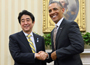 安倍総理「日米同盟の強い絆が完全復活」<br>日米首脳会談が行われる