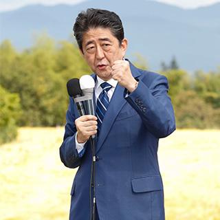 安倍総裁、福島から渾身の第一声