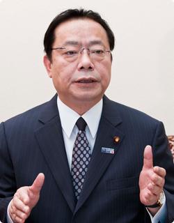 谷公一党災害対策特別委員長に聞...