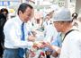 麻生副総理・財務大臣 千葉県で支援を訴える