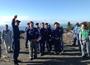 石破幹事長が伊豆大島を訪問 台風26号被害「一日も早く元の生活に」
