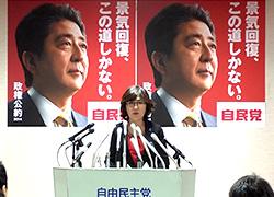 「実現可能な公約掲げる」稲田政務調査会長が政権公約を発表