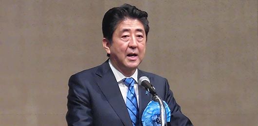 安倍総理 拉致問題解決に向け、力強く決意表明