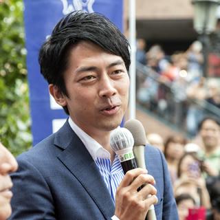 小泉進次郎の街頭演説