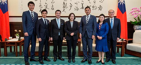 青年局幹部役員が台湾を訪問 | ...