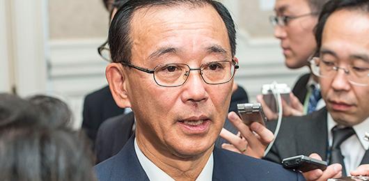 衆議院解散をうけて 谷垣幹事長...