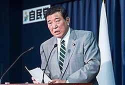 石破茂幹事長記者会見(役員連絡会後)